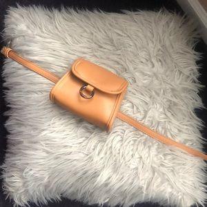 Cute Trendy Urban Ourfitters Tan Belt bag
